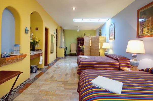 Rooms At Guadalajara Hotel Casa De Las Flores Bed And Breakfast In Tlaquepaque Jalisco